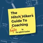 """Cover of """"The Hitchhiker's Guide to Agile Coaching"""""""