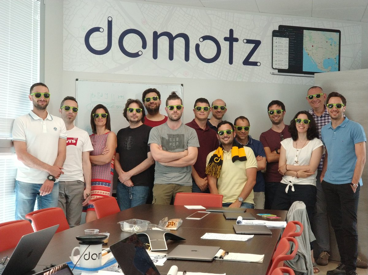 Il team di Domotz