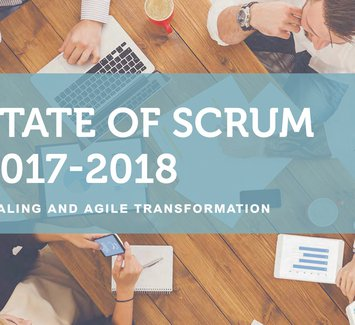 State of Scrum 2017-2018 (cover detail)