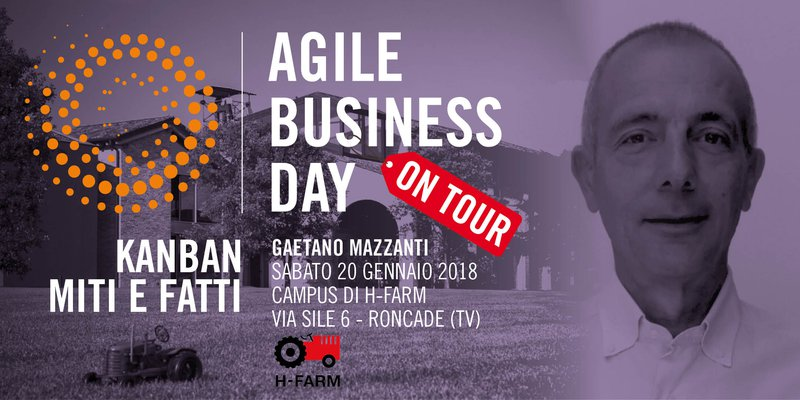 Gaetano Mazzanti Agile Business Day on Tour 20 gennaio 2018