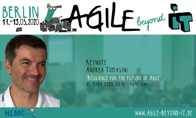 Keynote Andrea Tomasini Agile Beyond IT 2020