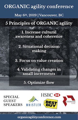5 Principles of ORGANIC agility