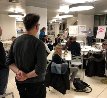 Scrumtisch Berlin January 2018