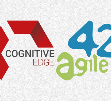 Cognitive Edge and agile42 logo montage