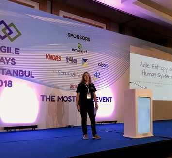 Joanne Perold at Agile Days Istanbul 2018