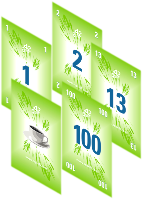 New Agile42 Scrum Planning Poker Cards