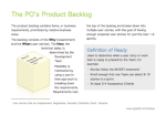 The PO's Product Backlog1
