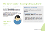 The Scrum Master - Leading without authority