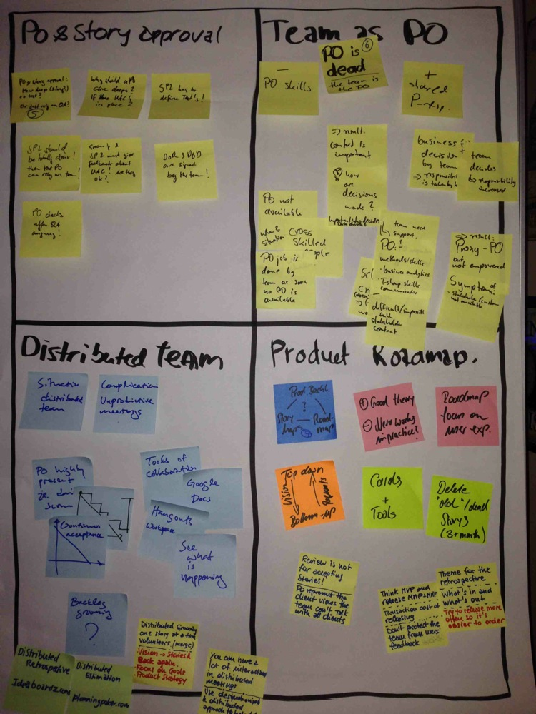 Topics Scrumtisch Sept.2014
