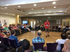 Scrum Coaching Retreat London opening by Mark Summers