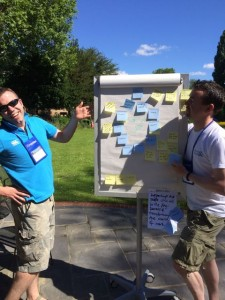 Geoff Watts is Product Owner of our team at the London Scrum Coaching Retreat