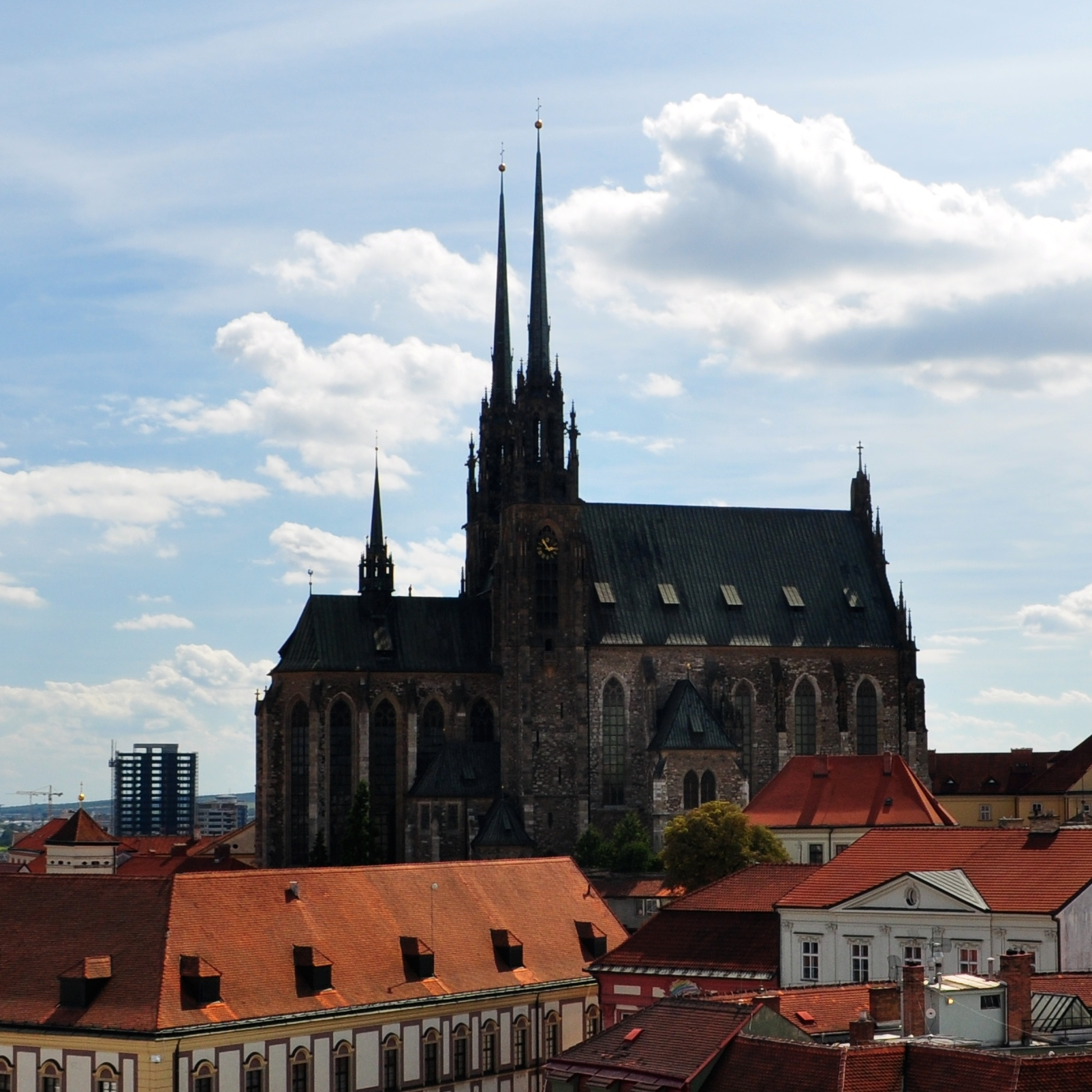 Brno - Cathedral of Saints Peter and Paul