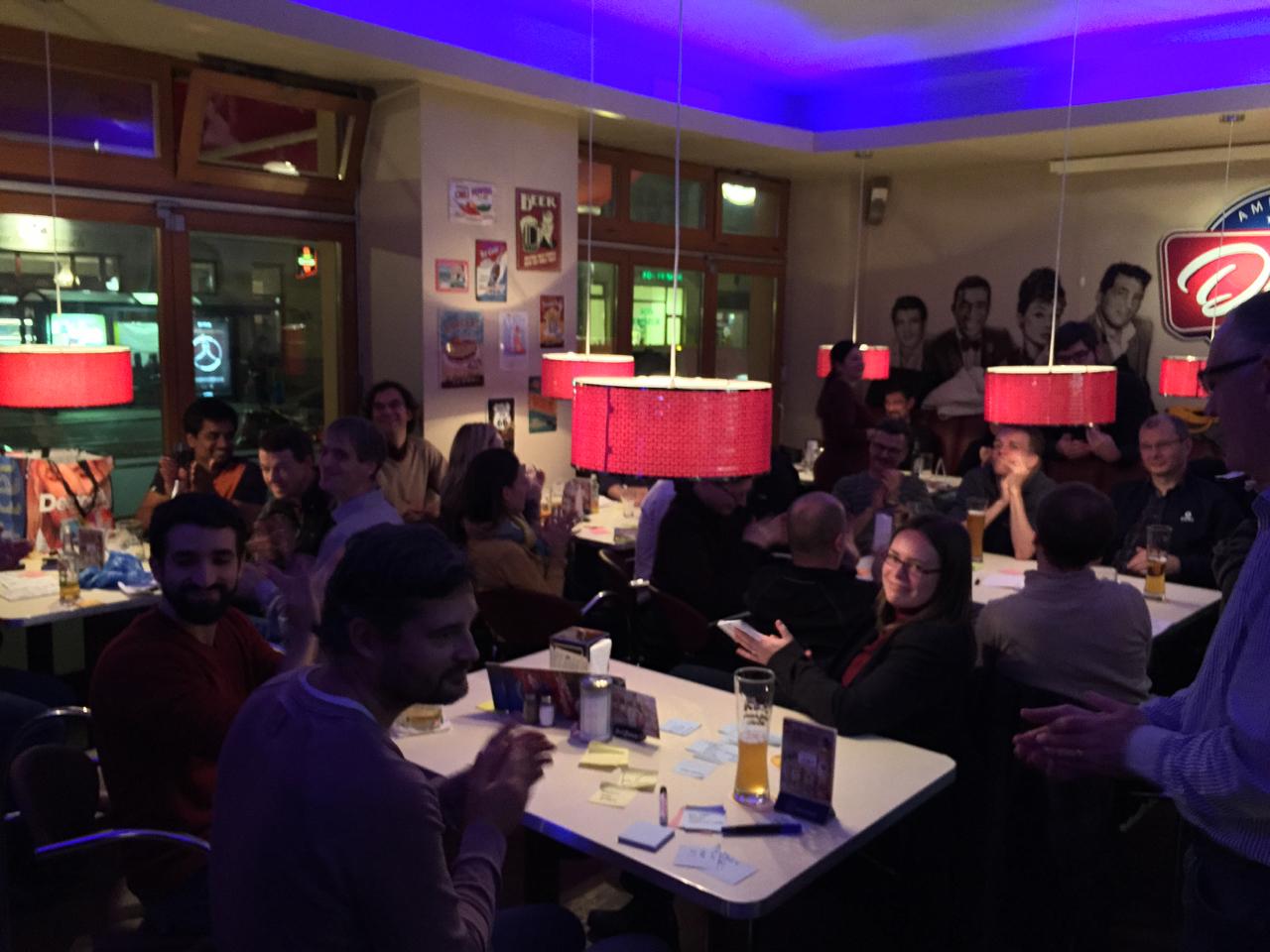 Audience at Berlin Scrumtisch November 2014