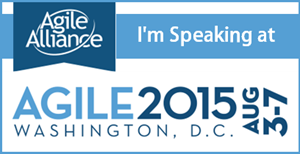 Speaking at Agile2015