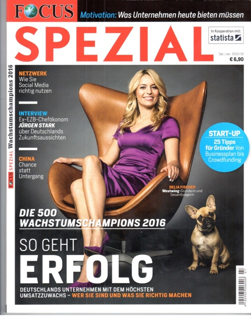 Cover of Focus special issue