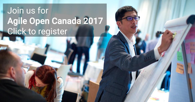 Agile Open Canada 2017