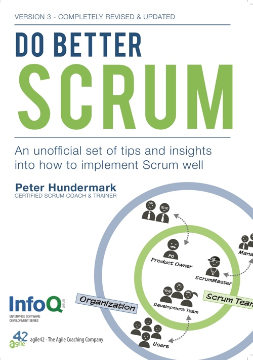 Do Better Scrum cover