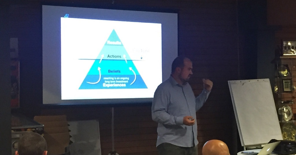 Javier Perez at Agile Coaching Amsterdam Meetup