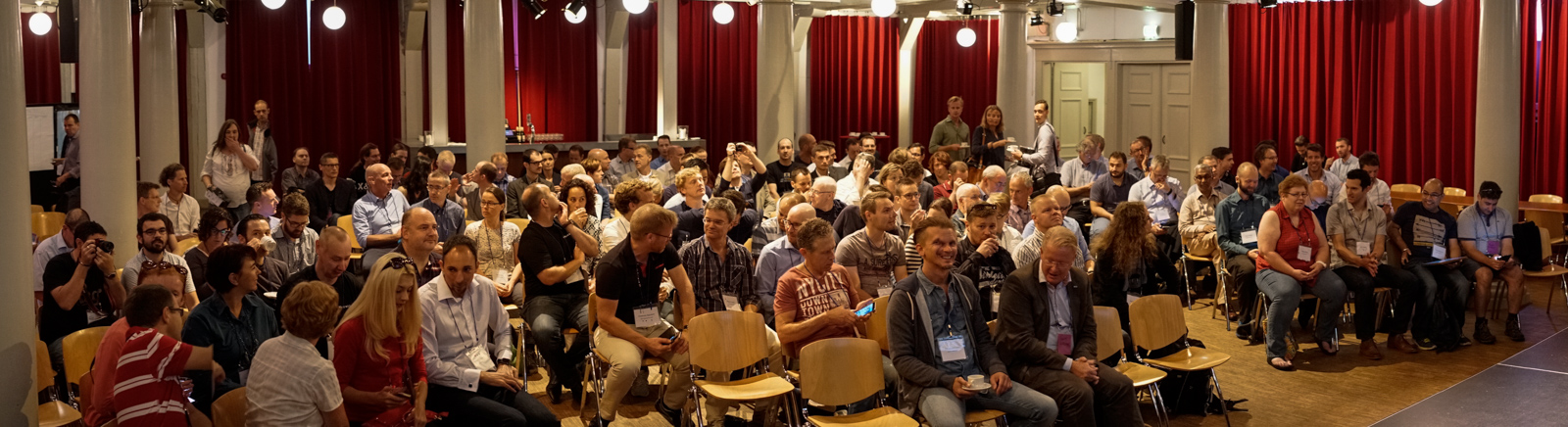 Waiting for LeSS16 to start