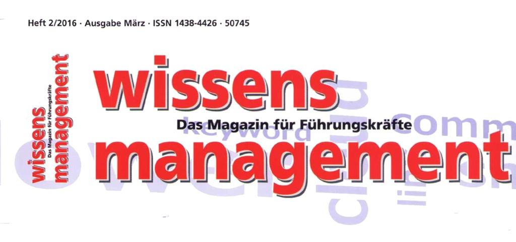 Logo wissensmanagement magazine